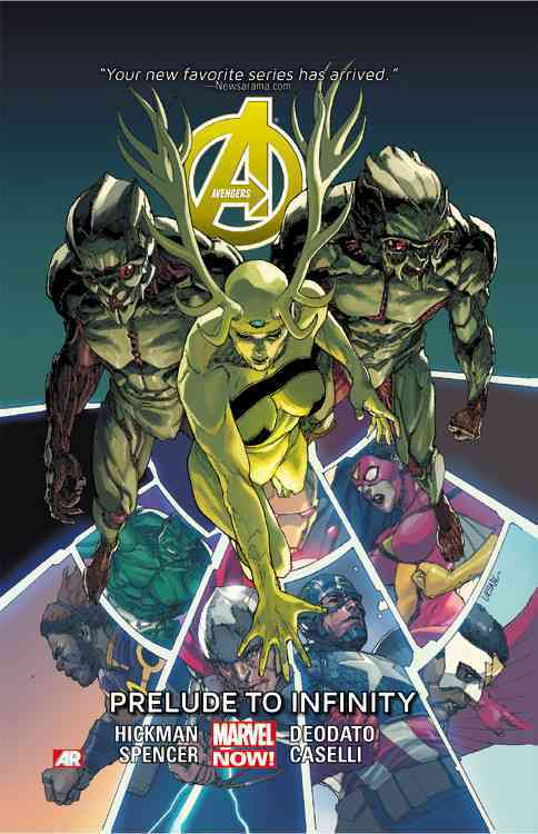 Avengers 3 By Hickman, Jonathan/ Spencer, Nick/ Deodato, Mike (ILT)/ Caselli, Stefano (ILT)